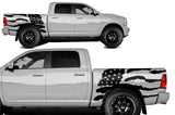 Dodge Ram 5.7 Bed Wrap Kit (2009-2018) Vinyl - American Flag - RacerX Customs