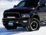 Dodge Ram 2500/3500/4500 Grille with LED Light Bar ('03-'05) RC1X - RacerX Customs