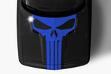 Dodge Challenger Vinyl Hood Decal (2008-2017) PUNISHER - RacerX Customs