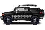 Toyota FJ Cruiser Vinyl Stripes Wrap Kit - FJ Tracks (2007-2014) - RacerX Customs