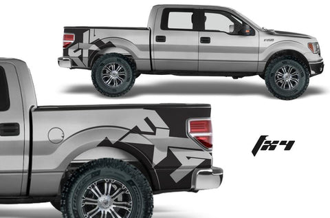 Ford F150 Quarter Panel Vinyl Wrap (2009-2014) FX4 - RacerX Customs
