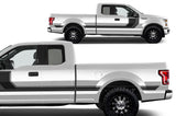 Ford F150 SuperCab 6.5 Vinyl Stripes (2015-2018) Rally Stripes #2 - RacerX Customs