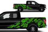 Ford F150 SuperCab 6.5 Wrap (2015-2018) Vinyl - Nightmare - RacerX Customs