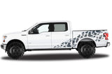 Ford F150 SuperCrew 5.5 Wrap (2015-2018) Vinyl - Tracks - RacerX Customs