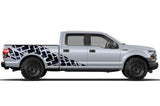 Ford F150 SuperCrew 6.5 Wrap (2015-2018) Vinyl - Tracks - RacerX Customs