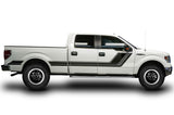 Ford F150 CrewCab 5.5 Vinyl Stripes (2009-2014) Rally Stripes #1 - RacerX Customs
