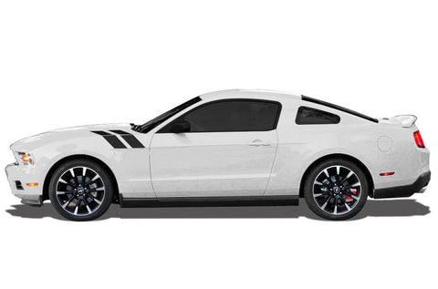 Ford Mustang Vinyl Hash Stripes (2010-2014) - RacerX Customs