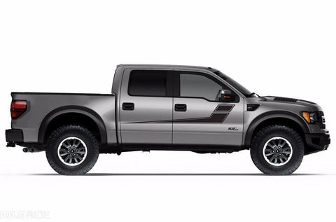 Ford Raptor Vinyl Side Stripes (2010-2014) - RacerX Customs