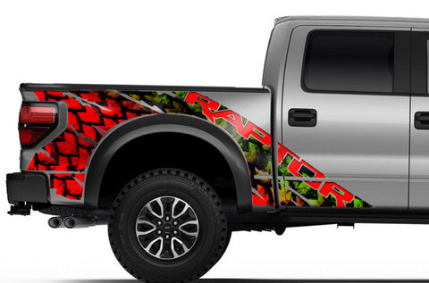 Ford Raptor Graphics Wrap Kit (2010-2014) SCALES - RacerX Customs