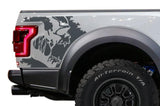 Ford Raptor Quarter-Panel Wrap (2015-2018) Scream - RacerX Customs