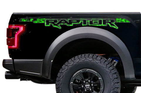 Ford Raptor Graphics (2015-2018) RAPTOR FIRE - RacerX Customs