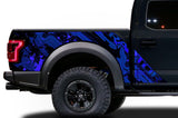 Ford Raptor Graphics Wrap Kit (2010-2014) LINES - RacerX Customs