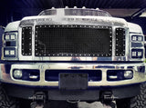 Ford Super Duty Custom Grille (2008-2010) RC1 - RacerX Customs