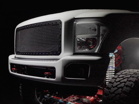 Ford Super Duty Custom Grille (2011-2016) RC1 - RacerX Customs