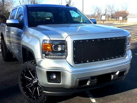 GMC Denali 1500 Custom Grille (2014-2015) RC1 - RacerX Customs