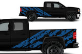 GMC Sierra Vinyl Wrap Kit (2014-2017) Shred - RacerX Customs