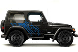 Jeep Wrangler Vinyl Wrap Kit (1999-2006) Splash - RacerX Customs