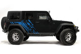 Jeep Wrangler 4-Door Vinyl Wrap Kit (2007-2016) Splash - RacerX Customs