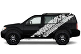 Nissan Pathfinder Vinyl Wrap Kit (2004-2012) - RacerX Customs