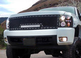 GMC Denali 2500/3500 Grille with LED Bar (2011-2014) RC1X - RacerX Customs