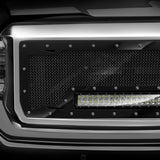 Ford Super Duty Custom Grille with LED Bar (2017-2019) RC1X - RacerX Customs