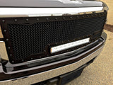 Ford Super Duty Custom Grille with LED Bar (2008-2010) RC1X - RacerX Customs