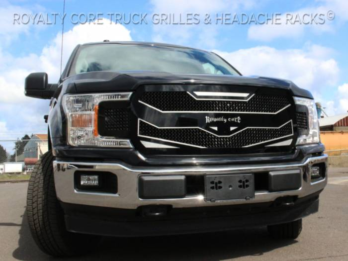 2012 F150 Grill >> Ford F150 Custom Grille 2009 2012 Rc4