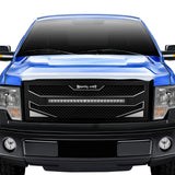 Chevy Silverado 1500 Custom Grille with LED Bar (2014-2015) RC4X - RacerX Customs
