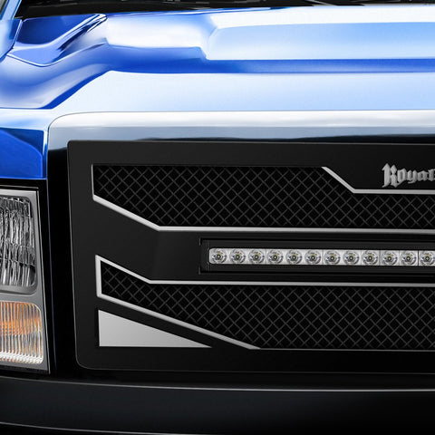 Toyota Tundra Custom Grille with LED Bar ('10-'13) RC4X - RacerX Customs