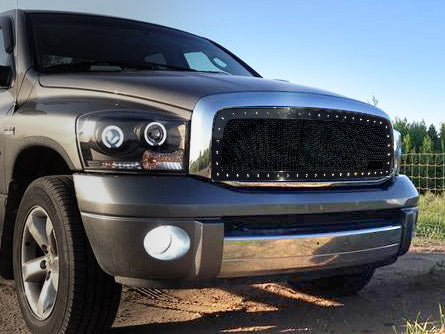 Custom Dodge Ram 1500 >> Dodge Ram 1500 Custom Grille 2002 2005 Rc1