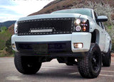 Chevy Silverado 1500 Grille with LED Bar (2007-2013) RC1X - RacerX Customs