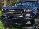Chevy Silverado 2500/3500 Custom Grille (2007-2010) RC4 - RacerX Customs