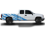 Chevy Silverado Extended-Cab Wrap (1999-2007) Vinyl - Shred - RacerX Customs