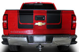 Chevy Silverado Vinyl Hood & Tailgate Stripes (2014-2017) - RacerX Customs
