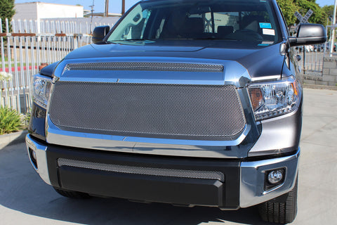 Toyota Tundra Grille - Stainless Steel Mesh Grille (2014-2019) - RacerX Customs