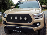 Toyota Tacoma Grille with 4 LED Lights - Stainless Steel Mesh (2017-2019) - RacerX Customs