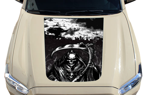 Toyota Tacoma Hood Graphics (2016-2018) GRIM REAPER - RacerX Customs