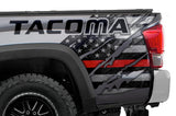Toyota Tacoma Quarter Panel Graphics (2016-2018) THIN RED LINE - RacerX Customs