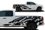 Nissan Titan Vinyl Wrap Kit (2004-2013) Shred - RacerX Customs