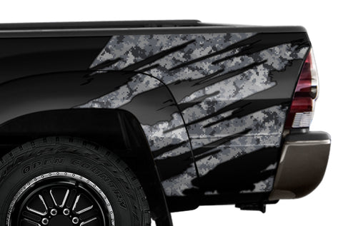 Toyota Tundra Quarter Panel Graphics (2007-2013) DIGI CAMO - RacerX Customs