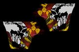 Toyota Tundra Quarter Panel Graphics (2007-2013) SKULL MELTDOWN - RacerX Customs
