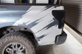 Toyota Tundra Wrap Kit - Quarter Panel Vinyl - Torn (2007-2013) - RacerX Customs