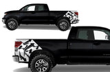 Toyota Tundra Wrap Kit - Quarter Panel Vinyl - Arrows (2007-2013) - RacerX Customs