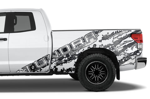Toyota Tundra Double-Cab Graphics (2007-2013) SUBDUED - RacerX Customs