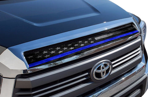 Toyota Tundra Accent Graphics (2014-2019) THIN BLUE LINE - RacerX Customs