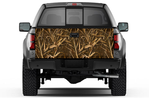 Universal Tailgate Wrap, Trim-To-Fit Tailgate Graphics - WING CAMO - RacerX Customs