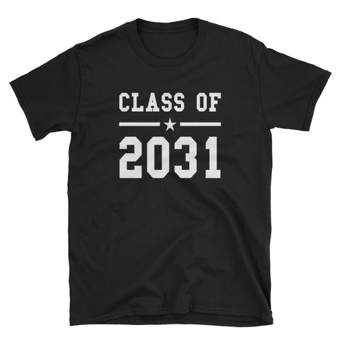 Class of 2031 Grow with me Short-Sleeve Unisex T-Shirt