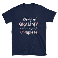 Being Grammy Makes My Life Complete Short-Sleeve Unisex T-Shirt