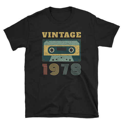 40th Birthday Gift Vintage 1978 Short-Sleeve Unisex T-Shirt