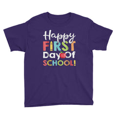 Happy First Day Of School T-shirt